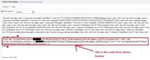 Embed HTML Image