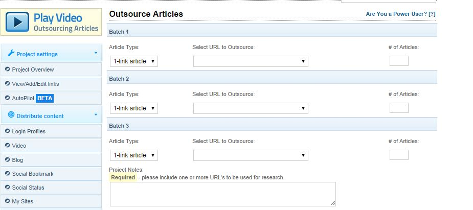 Outsource articles Linkvana